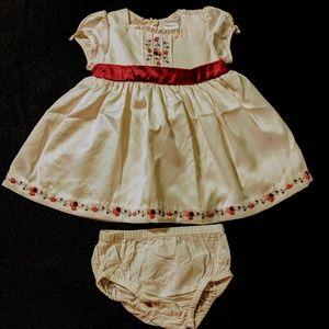 Girls 3/6 months Gymboree Holiday Dress